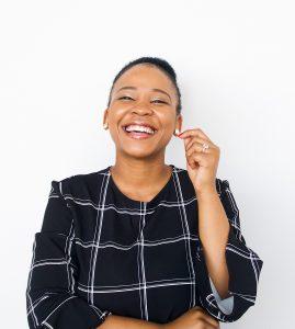 woman of color in leadership position - Ayanda Vana