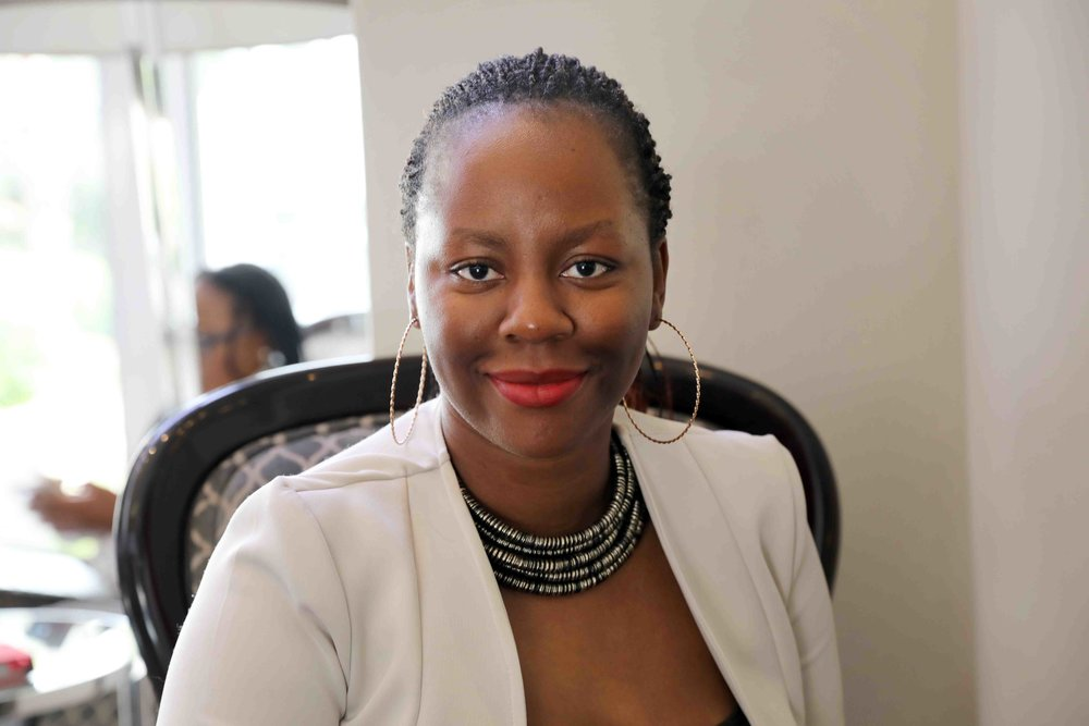 Zandile Keebine, black woman CEO